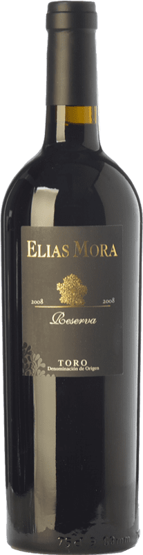 52,95 € Free Shipping | Red wine Elías Mora Reserva 2010 D.O. Toro Castilla y León Spain Tinta de Toro Bottle 75 cl