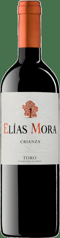 14,95 € Free Shipping | Red wine Elías Mora Crianza D.O. Toro Castilla y León Spain Tinta de Toro Bottle 75 cl