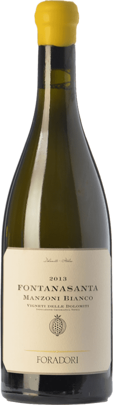28,95 € Envoi gratuit | Vin blanc Foradori Fontanasanta I.G.T. Vigneti delle Dolomiti Trentin Italie Manzoni Bianco Bouteille 75 cl
