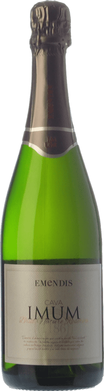 9,95 € | White sparkling Emendis Imum Brut Nature Reserva D.O. Cava Catalonia Spain Macabeo, Xarel·lo, Parellada Bottle 75 cl