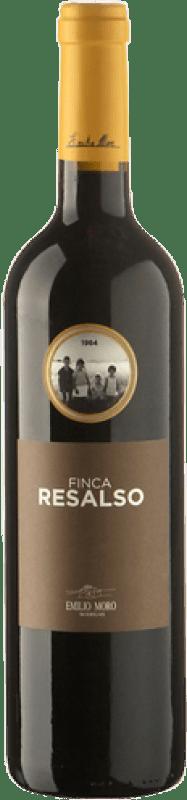 9,95 € Envoi gratuit | Vin rouge Emilio Moro Finca Resalso Joven D.O. Ribera del Duero Castille et Leon Espagne Tempranillo Bouteille 75 cl