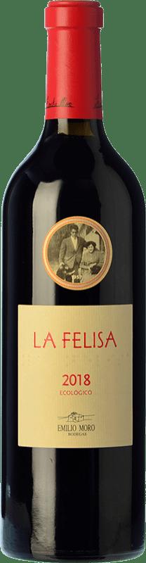 31,95 € Envoi gratuit | Vin rouge Emilio Moro La Felisa Crianza D.O. Ribera del Duero Castille et Leon Espagne Tempranillo Bouteille 75 cl
