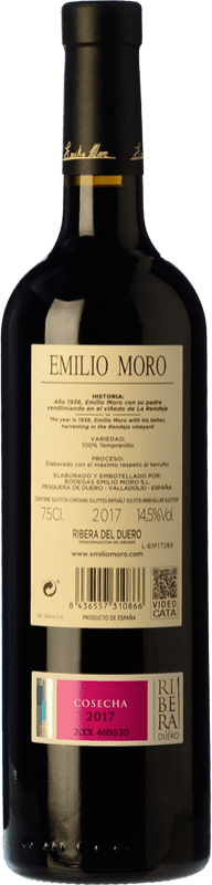 22,95 € Free Shipping   Red wine Emilio Moro Crianza D.O. Ribera del Duero Castilla y León Spain Tempranillo Magnum Bottle 1,5 L