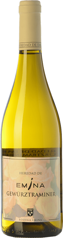 9,95 € Envoi gratuit | Vin blanc Emina Heredad I.G.P. Vino de la Tierra de Castilla y León Castille et Leon Espagne Gewürztraminer Bouteille 75 cl
