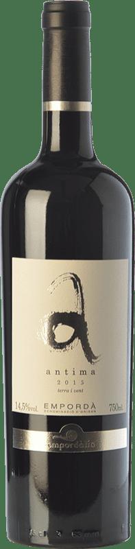 13,95 € Free Shipping | Red wine Empordàlia Antima Joven D.O. Empordà Catalonia Spain Grenache, Carignan Bottle 75 cl