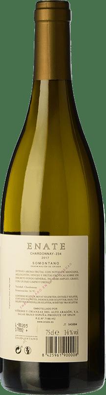 11,95 € Free Shipping | White wine Enate 234 D.O. Somontano Aragon Spain Chardonnay Magnum Bottle 1,5 L