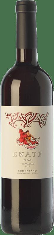 5,95 € Envío gratis | Vino tinto Enate Tapas Joven D.O. Somontano Aragón España Tempranillo, Merlot, Cabernet Sauvignon Botella 75 cl
