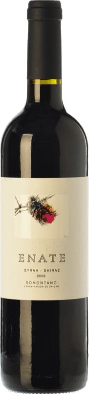 23,95 € | Red wine Enate Syrah-Shiraz Crianza D.O. Somontano Aragon Spain Syrah Bottle 75 cl