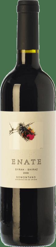 22,95 € Envío gratis | Vino tinto Enate Syrah-Shiraz Crianza D.O. Somontano Aragón España Syrah Botella 75 cl