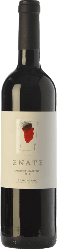 23,95 € | Red wine Enate Cabernet Crianza D.O. Somontano Aragon Spain Cabernet Sauvignon Bottle 75 cl