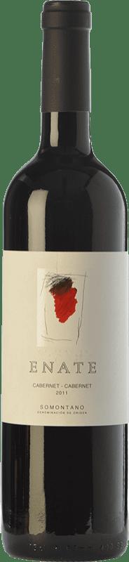 25,95 € Envío gratis | Vino tinto Enate Cabernet Crianza D.O. Somontano Aragón España Cabernet Sauvignon Botella 75 cl