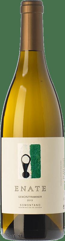 13,95 € Envío gratis | Vino blanco Enate D.O. Somontano Aragón España Gewürztraminer Botella 75 cl