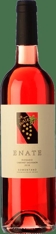 8,95 € Free Shipping | Rosé wine Enate Joven D.O. Somontano Aragon Spain Cabernet Sauvignon Bottle 75 cl
