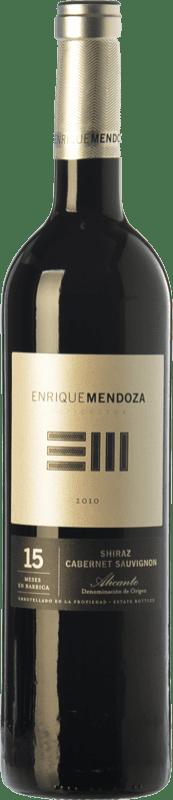 14,95 € Envoi gratuit | Vin rouge Enrique Mendoza Syrah-Cabernet Reserva D.O. Alicante Communauté valencienne Espagne Syrah, Cabernet Sauvignon Bouteille 75 cl
