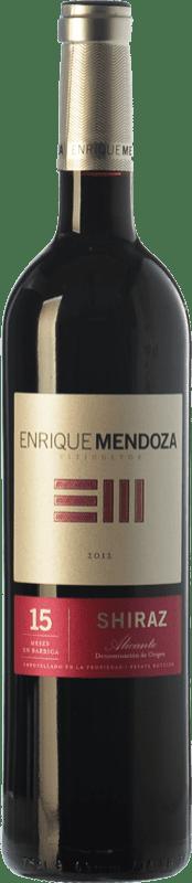 13,95 € | Red wine Enrique Mendoza Joven D.O. Alicante Valencian Community Spain Syrah Bottle 75 cl