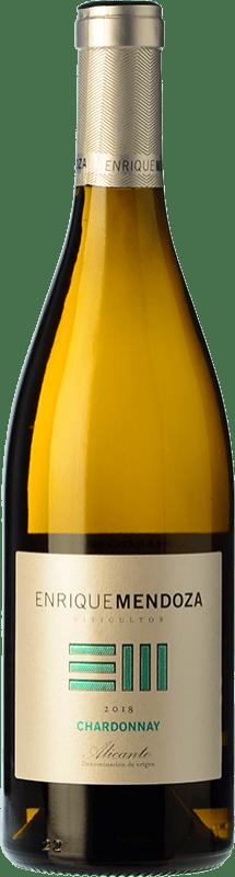 9,95 € Envoi gratuit | Vin blanc Enrique Mendoza Joven D.O. Alicante Communauté valencienne Espagne Chardonnay Bouteille 75 cl