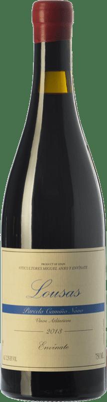 22,95 € Free Shipping | Red wine Envínate Lousas Parcela Camiño Novo Crianza D.O. Ribeira Sacra Galicia Spain Mencía, Grenache Tintorera Bottle 75 cl
