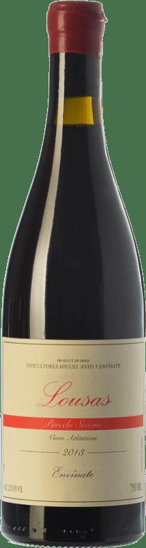 22,95 € Envoi gratuit | Vin rouge Envínate Lousas Parcela Seoane Crianza D.O. Ribeira Sacra Galice Espagne Mencía, Grenache Tintorera, Merenzao Bouteille 75 cl