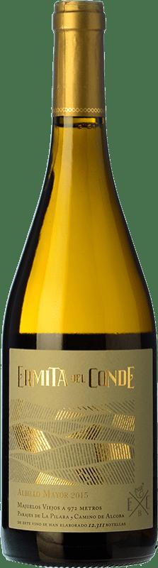 14,95 € Free Shipping | White wine Ermita del Conde Centenario Crianza I.G.P. Vino de la Tierra de Castilla y León Castilla y León Spain Albillo Bottle 75 cl