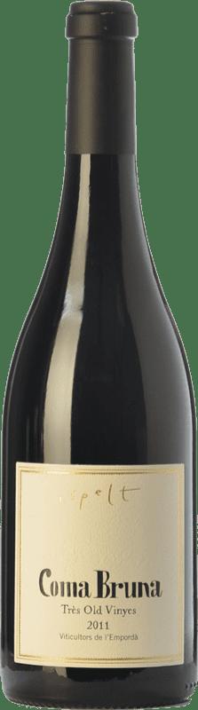 28,95 € Free Shipping | Red wine Espelt Coma Bruna Crianza D.O. Empordà Catalonia Spain Syrah, Carignan, Marcelan Bottle 75 cl