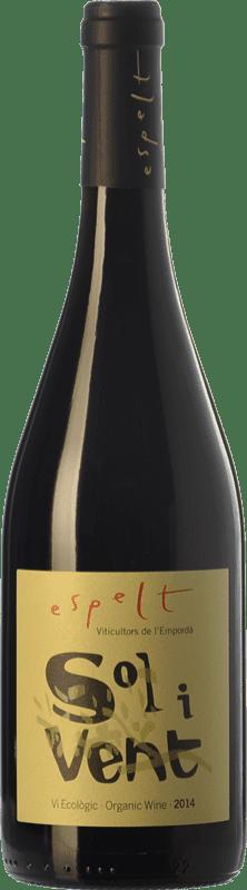 11,95 € | Red wine Espelt Sol i Vent Joven D.O. Empordà Catalonia Spain Syrah, Grenache, Monastrell Bottle 75 cl