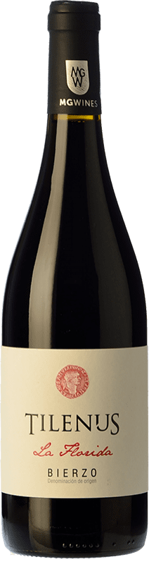 11,95 € | Red wine Estefanía Tilenus Crianza D.O. Bierzo Castilla y León Spain Mencía Bottle 75 cl