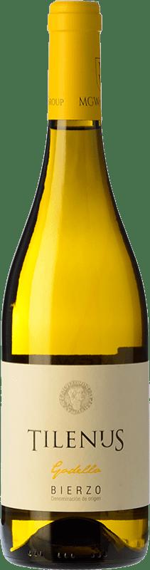 12,95 € | White wine Estefanía Tilenus Crianza D.O. Bierzo Castilla y León Spain Godello Bottle 75 cl