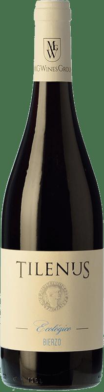 8,95 € | Red wine Estefanía Tilenus Ecológico Joven D.O. Bierzo Castilla y León Spain Mencía Bottle 75 cl