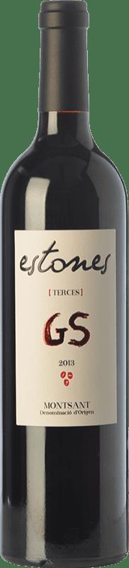 22,95 € 免费送货 | 红酒 Estones GS Crianza D.O. Montsant 加泰罗尼亚 西班牙 Grenache, Mazuelo 瓶子 75 cl