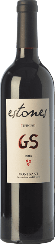 22,95 € | Red wine Estones GS Crianza D.O. Montsant Catalonia Spain Grenache, Mazuelo Bottle 75 cl