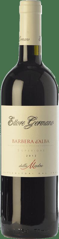 23,95 € Free Shipping | Red wine Ettore Germano della Madre D.O.C. Barbera d'Alba Piemonte Italy Barbera Bottle 75 cl