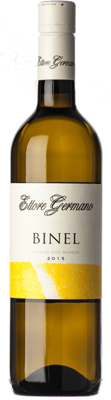19,95 € | White wine Ettore Germano Binel D.O.C. Langhe Piemonte Italy Chardonnay, Riesling Bottle 75 cl