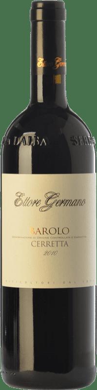 61,95 € Free Shipping | Red wine Ettore Germano Cerretta D.O.C.G. Barolo Piemonte Italy Nebbiolo Bottle 75 cl