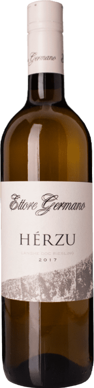 26,95 € | White wine Ettore Germano Herzu D.O.C. Langhe Piemonte Italy Riesling Bottle 75 cl