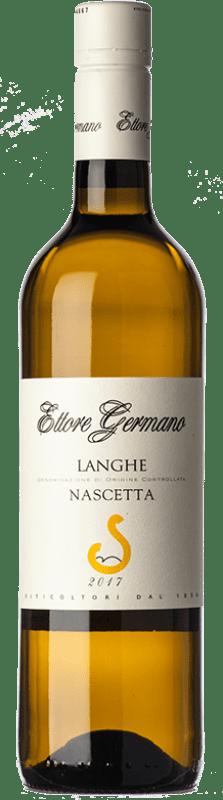 17,95 € Free Shipping | White wine Ettore Germano D.O.C. Langhe Piemonte Italy Nascetta Bottle 75 cl
