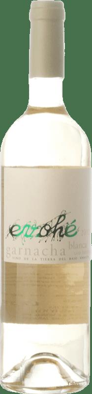 6,95 € Free Shipping | White wine Evohé Garnacha I.G.P. Vino de la Tierra Bajo Aragón Aragon Spain Grenache White Bottle 75 cl
