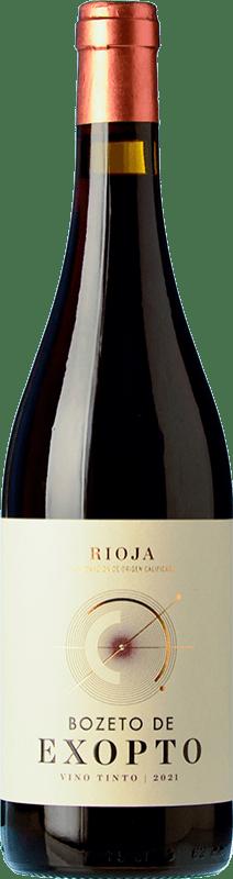 8,95 € Free Shipping | Red wine Exopto Bozeto Joven D.O.Ca. Rioja The Rioja Spain Tempranillo, Grenache, Graciano Bottle 75 cl