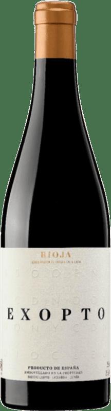 39,95 € Free Shipping | Red wine Exopto Crianza D.O.Ca. Rioja The Rioja Spain Tempranillo, Grenache, Graciano Bottle 75 cl