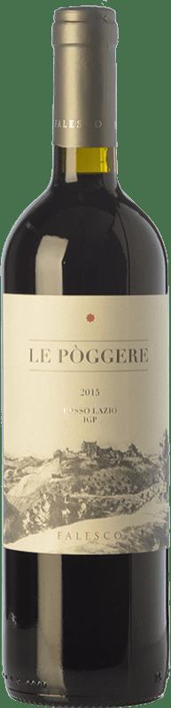 6,95 € Free Shipping | Red wine Falesco Le Pòggere I.G.T. Lazio Lazio Italy Cabernet Sauvignon, Sangiovese Bottle 75 cl