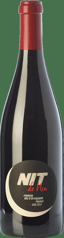 84,95 € | Red wine Nin-Ortiz Nit Mas d'en Caçador Crianza D.O.Ca. Priorat Catalonia Spain Carignan, Grenache Hairy Bottle 75 cl