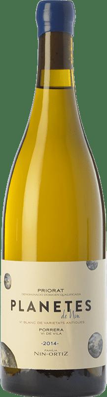 34,95 € Envío gratis | Vino blanco Nin-Ortiz Planetes Blanc Crianza D.O.Ca. Priorat Cataluña España Cariñena Blanca Botella 75 cl