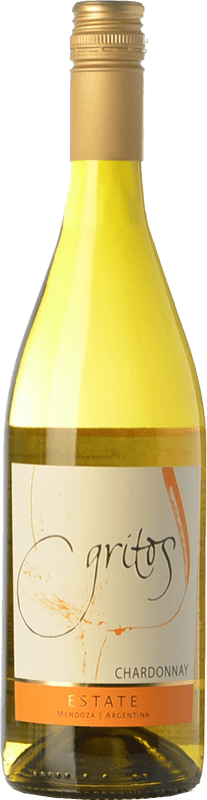 17,95 € Free Shipping   White wine Otero Ramos Gritos Estate Crianza I.G. Mendoza Mendoza Argentina Chardonnay Bottle 75 cl