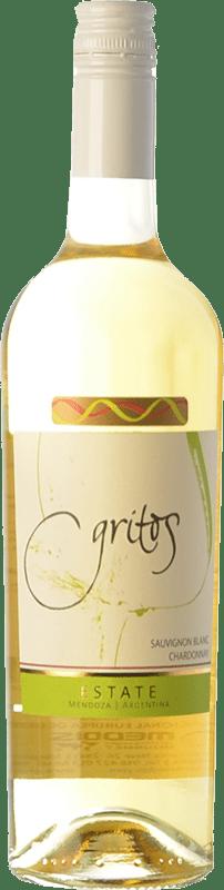 15,95 € Free Shipping   White wine Otero Ramos Gritos Estate Sauvignon Blanc-Chardonnay I.G. Mendoza Mendoza Argentina Chardonnay, Sauvignon White Bottle 75 cl