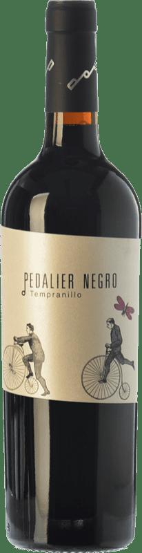 8,95 € Free Shipping | Red wine Family Owned Pedalier Joven I.G.P. Vino de la Tierra de Castilla y León Castilla y León Spain Tempranillo Bottle 75 cl