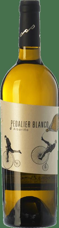 12,95 € Free Shipping | White wine Family Owned Pedalier D.O. Rías Baixas Galicia Spain Albariño Bottle 75 cl