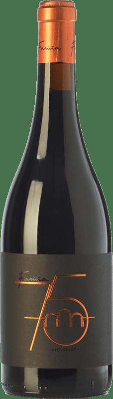 17,95 € Free Shipping | Red wine Fariña 75 Aniversario Crianza D.O. Toro Castilla y León Spain Tinta de Toro Bottle 75 cl