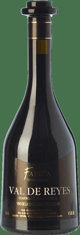15,95 € Envío gratis | Vino dulce Fariña Val de Reyes I.G.P. Vino de la Tierra de Castilla y León Castilla y León España Tempranillo Botella 75 cl