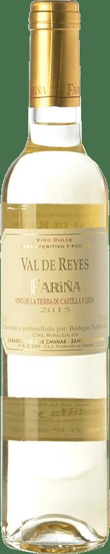 6,95 € 免费送货 | 白酒 Fariña Val de Reyes 半干 I.G.P. Vino de la Tierra de Castilla y León 卡斯蒂利亚莱昂 西班牙 Muscatel, Albillo 瓶子 75 cl