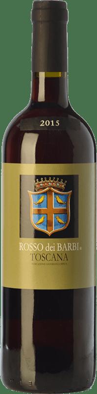 8,95 € Free Shipping | Red wine Fattoria dei Barbi Rosso dei Barbi I.G.T. Toscana Tuscany Italy Sangiovese Bottle 75 cl