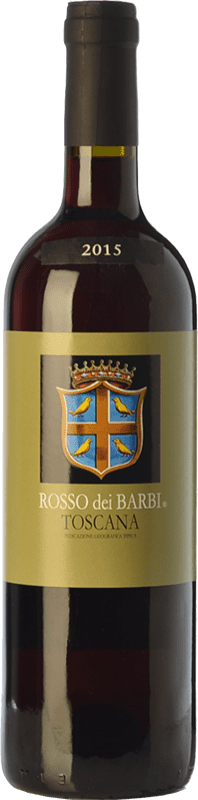 8,95 € Envío gratis | Vino tinto Fattoria dei Barbi Rosso dei Barbi I.G.T. Toscana Toscana Italia Sangiovese Botella 75 cl